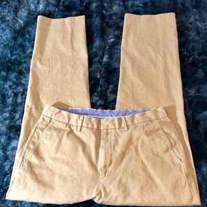 J. Crew Men's Classic Bowery Chino Pants W34 L32